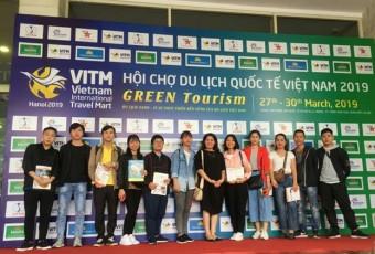 Sinh viên Đại học UTM tham dự hội chợ Du lịch Quốc tế