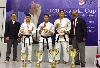 Karate Okazaki Cup Quốc Tế 2020